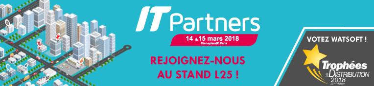 IT Partners 2018 : Venez à notre rencontre !