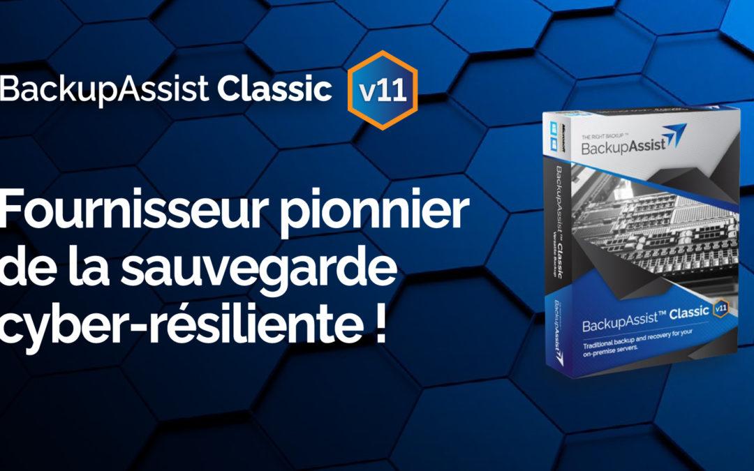 BackupAssist V11 : focus sur la cyber-résilience