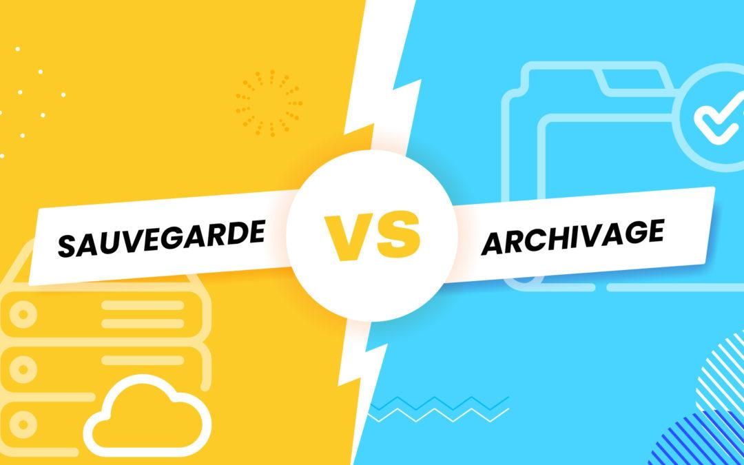 Sauvegarde et archivage des e-mails : quelles différences ?